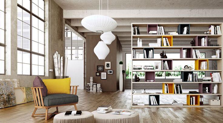 Librerie, grandi o piccole: una soluzione per ogni ambiente - Cose di Casa
