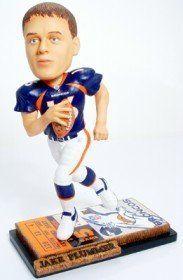 Denver Broncos Jake Plummer Ticket Base Forever Collectibles Bobblehead