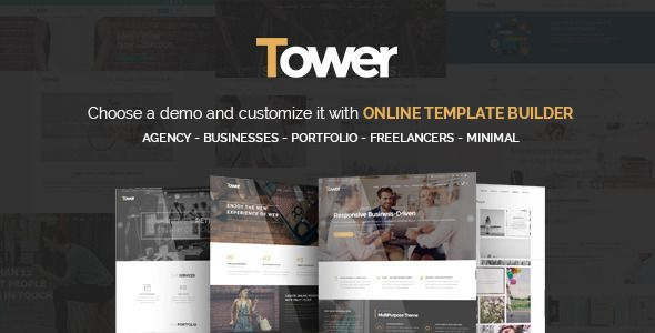 Tower Wordpress Business-Driven Multi-reason Theme its made on account of the business sites needs. So we offer a subject custom-made for high performace in desing, speed and advertising. Tower have 4 key bundles: Agency, Business, Minimal, Portfolio with this classes you don't have to purchase any longer a wordpress topic on the grounds that each site its included in this packs. Tower its completely responsive wordpress topic so you will get high positioning on google and other web…