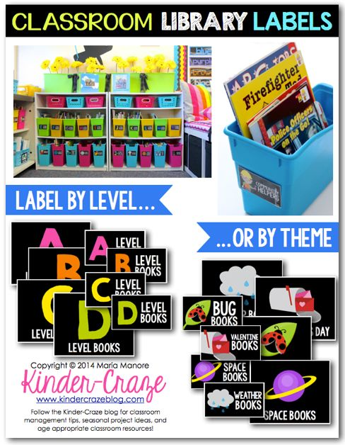 these best-selling Classroom Library Labels from TpT are a lifesaver for any teacher trying to tackle their classroom library. It includes book labels that coordinate with the box labels so students always know where to return a book when they are done reading it. How did I ever survive without these?