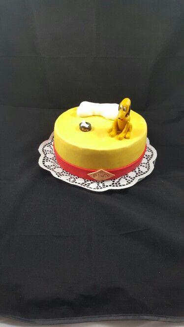 Disney  Pluto  Hund  Knochen Torte