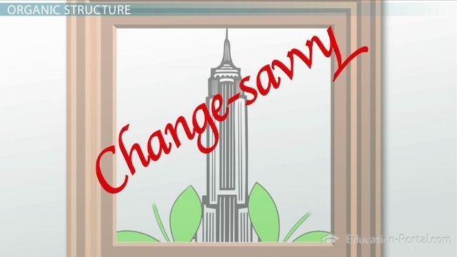 Mechanistic & Organic Organizational Business Structures - Video & Lesson Transcript | Education Portal