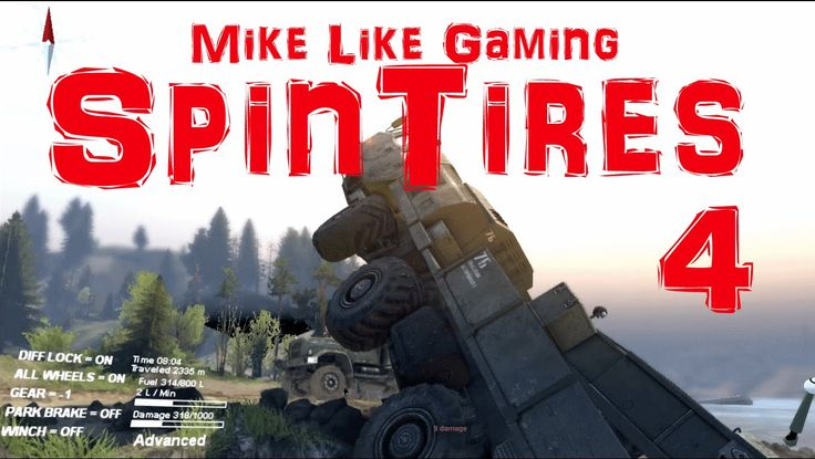I'm back and in this episode of my playthrough of SpinTires: Volcano Map...I'm still ruining my trucks in the water.