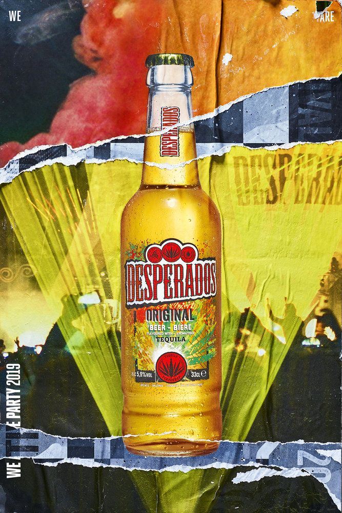 Desperados Iconic Party Poster Campaign Launches New Identity We Are Pi News In 2020 Party Poster Flavored Beer Beer Party