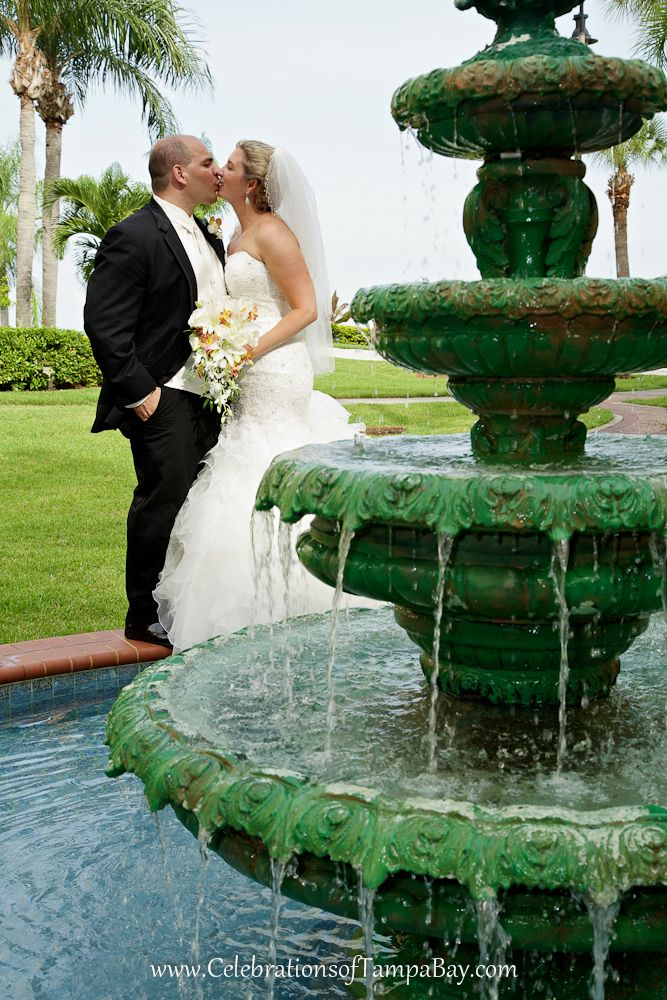 Safety Harbor Spa, shot by Clearwater Wedding Photographer Joe with Celebrations of Tampa Bay http://celebrationsoftampabay.com/photographers-clearwater/