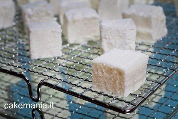 Marshmallows Caseiros. Foto © Federico Box parágrafo Cake Mania ®