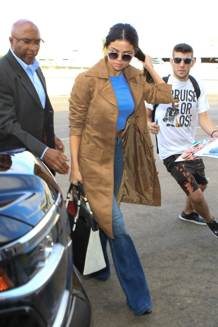 images about steal selena gomez s style red her ultra flared denim is a tribute to the 70s
