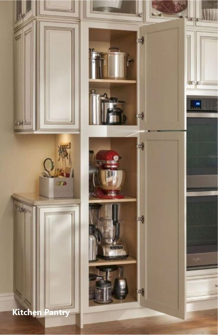 Kitchen Pantry Cabinets In 2020 Kitchen Remodel Small Best Kitchen Cabinets Kitchen Layout