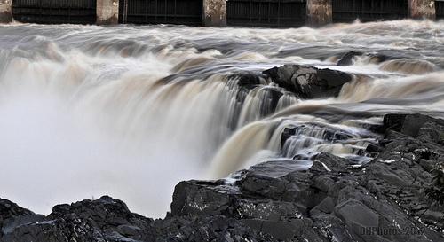 Grand Falls at Dawn, New Brunswick, CA