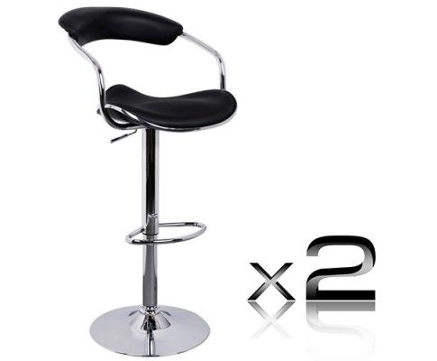 Designed to blend in with any environment, our bar stool serves the purpose of providing seating comfort along with a neat, simple design. The immaculate bar stool speaks for itself regardless of style, comfort or minimalism which is all key ingredients to seek for perfection.  http://www.rosaelonline.com.au/product/2-x-pu-leather-bar-stool-black-9/
