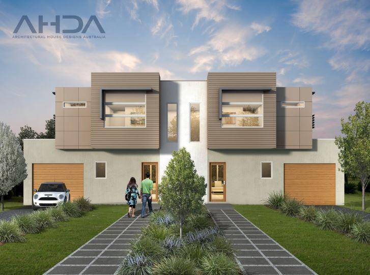 D3004 Duplex House Design Duplex Design House Design
