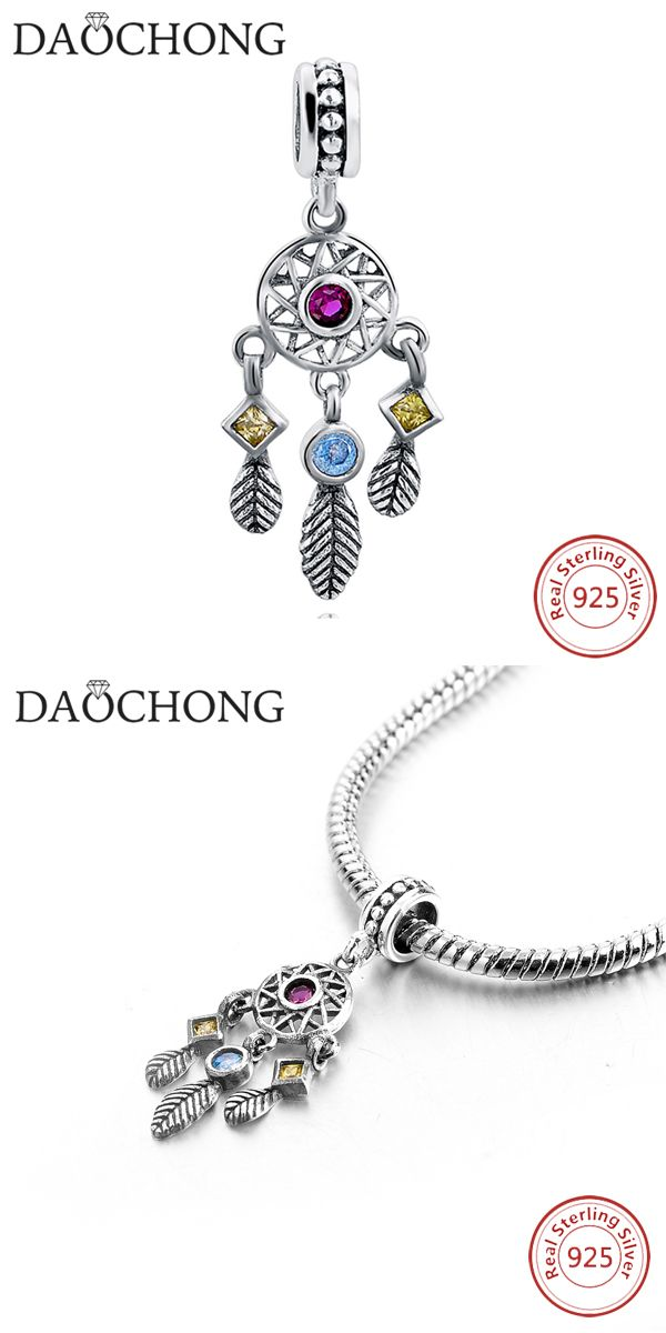 ccb9474c7 Dreamcatcher Charms 925 sterling silver DIY making Charms for bracelet # silver #jewelry #jewellery #charm #diycharm #silvercharm #Europeancharms ...