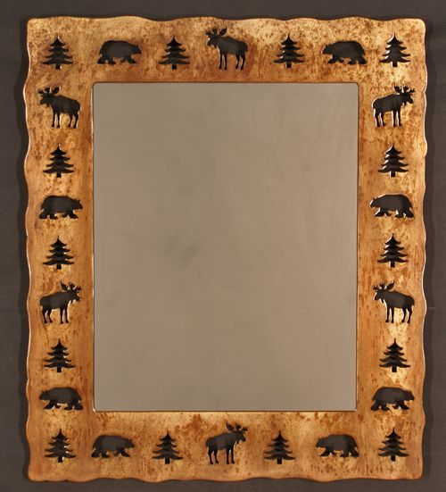 Great Mirror For The Cabin; Rustic Accessories, Cabin Decor, Lodge Furniture,  Hand