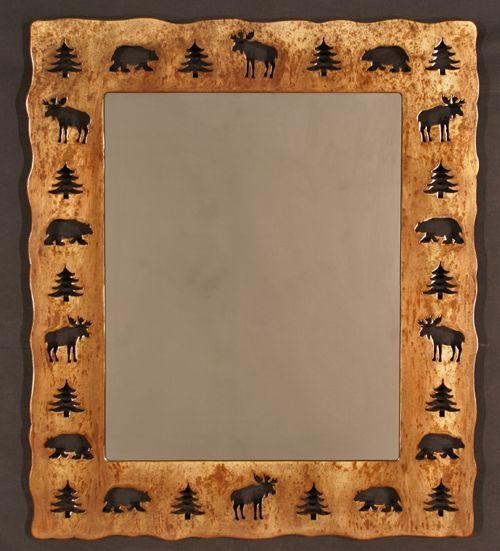 mirror for the cabin; Rustic Accessories, Cabin Decor, Lodge Furniture ...