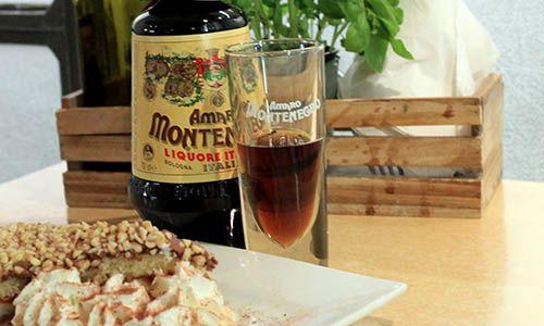 Amaro Montenero Liquor at Prima Sapori d'Italia Restaurant