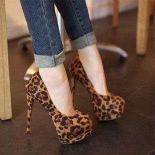 Fashion Suede Upper Stiletto Heels Closed-toe Platform Women Pumps