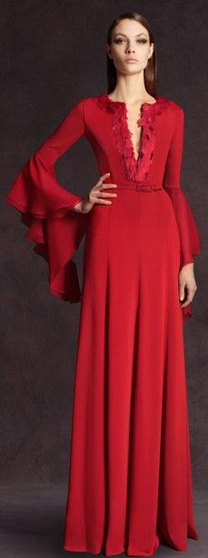 Andrew Gn - red gown - 2013