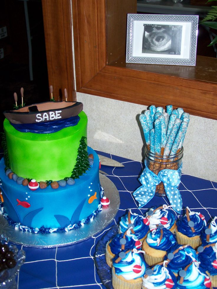 13 best nautical theme ideas images on pinterest sailing for Fishing themed baby shower