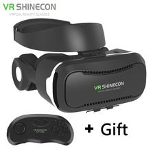 Новый VR Очки Shinecon 4.0 Виртуальной Реальности 3D Google картон VR BOX с Bluetooth Гарнитура Для 4.5-6.0 Дюймов смартфоны //Цена: $US $29.99 & Бесплатная доставка //  #gadgets #ноутбуки