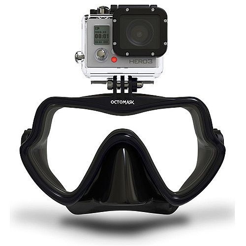 OctoMask Single Lens Scuba Mask for GoPro HERO Cameras 201 127373