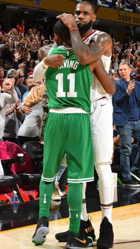 6734f101b Kyrie Irving and Lebron James had the best Chemistry ❤ Gonna miss them  playing on the same team