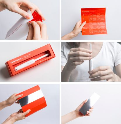 I brought a product structure from a Tampon. In this small box, there are survival  tools that you need in an emergency situation. You can also use the package as a survival guide instruction. Tamporgency will guide you to survive easily and simply.