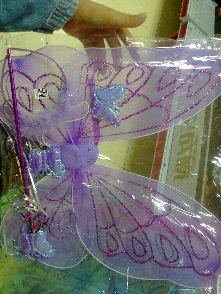 sayap kupu tongkat bando ready warna putih,biru,pink,ungu hrg 60.000 SMS/wa 085642917567