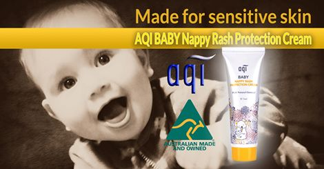 AQI BABY Nappy Rash Protection Cream~ Get it from our online store at www.aqicare.com today. #naturalskincare  #skincareproducts #Australianskincare #AqiskinCare #australianmade