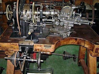 RA-Lienhard-Chaux-De-Fonds-Antique-Engine-Turning-Machine-Circa-1903