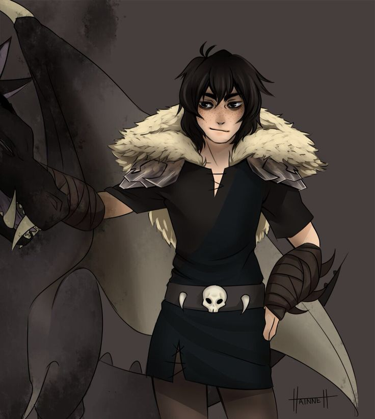NICO AS HICCUP I JUST DIED