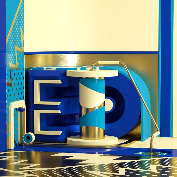TYPE • Explorations 2 on Behance