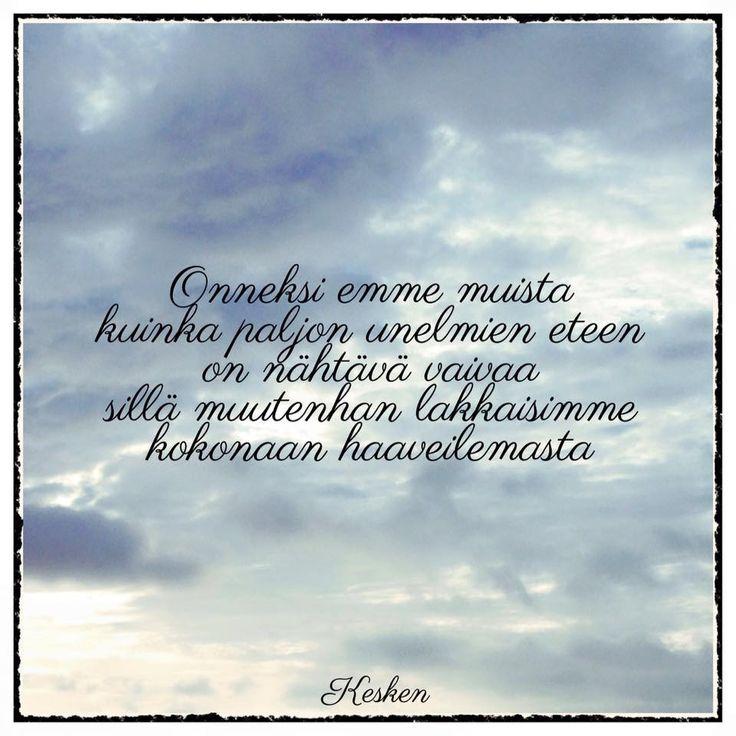Kesken Elina Salminen poetry