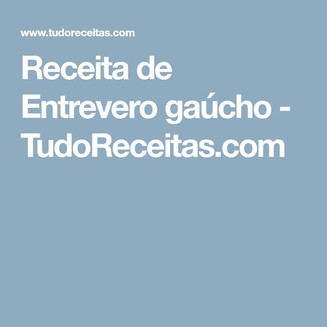 Receita de Entrevero gaúcho - TudoReceitas.com
