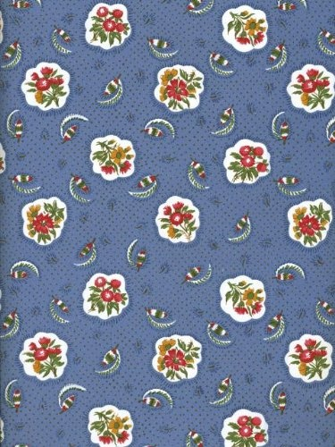 Pierre Deux: Country Avignonet Blue: Patterns Prints