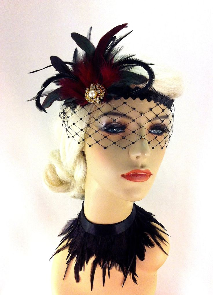 Flapper Headband1920's Headpiece Art Deco Headband by IceGreenEyes, $79.00