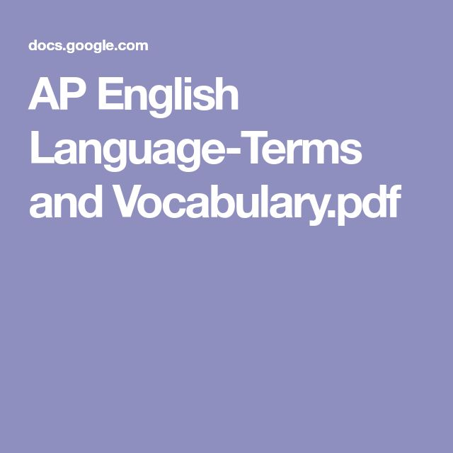 AP English Language-Terms and Vocabulary.pdf