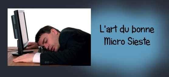 La micro sieste : Un temps de récupération important