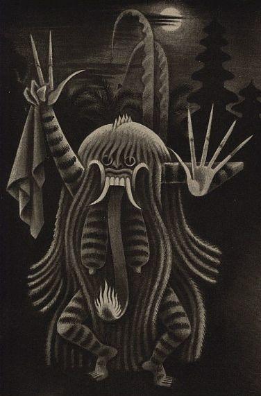 Rangda by Miguel Covarrubias, 1937