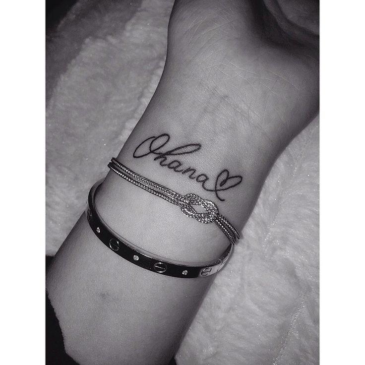 Ohana tattoo                                                                                                                                                     Más