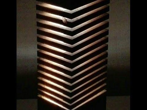 """Din categoria """"How To?"""", astăzi am găsit un filmuleţ interesant care ne învaţă cum să realizăm un obiect de design interior din lemn... Suntem încântaţi să vedem asemenea artişti la muncă! #campaniisharihome https://www.youtube.com/watch?v=Zod2xtxPd0U"""