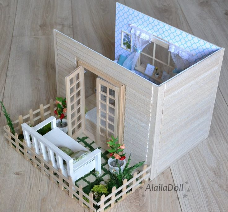 "My new Diorama ""Lovely Garden"" 