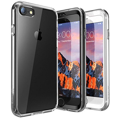 Iphone 7 Case Supcase Ares Bumper Case With Built-in Screen Protector For Apple Iphone 7 Clear
