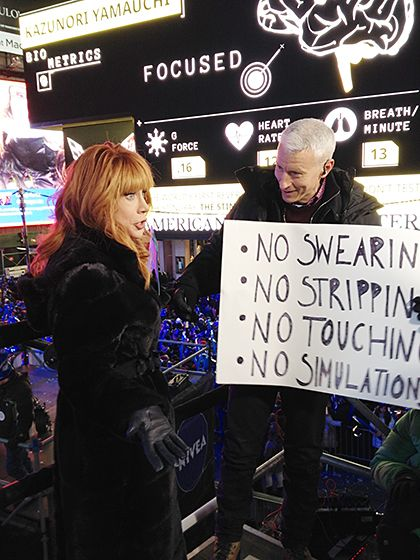 New Year's Eve Rules - Kathy Griffin with Anderson Cooper