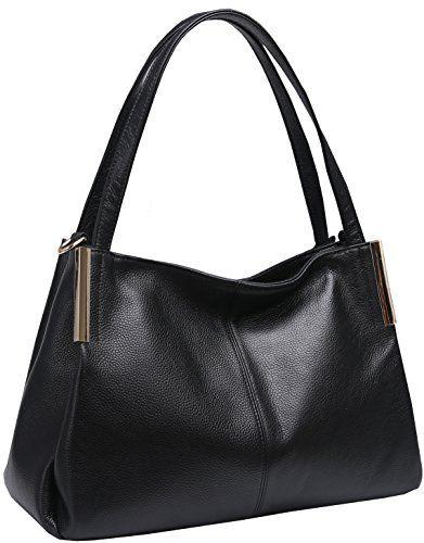 SALE PRICE - $73.9 - Heshe Women's Leather Handbags Top Handle Totes Bags Shoulder Handbag Satchel Designer Purse Cross Body Bag for Office Lady