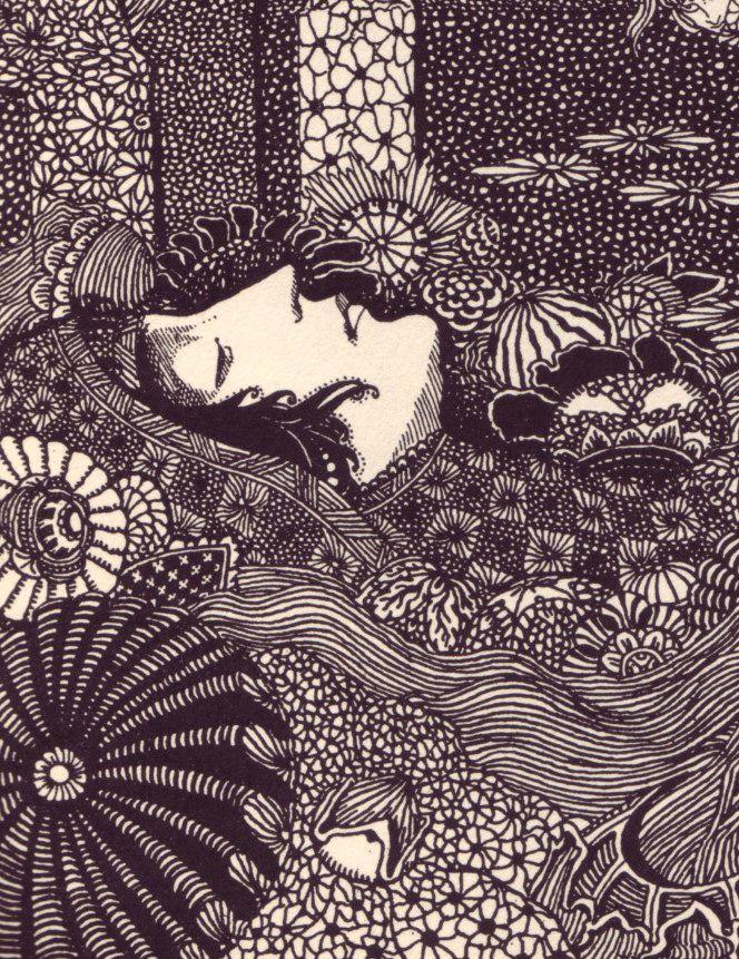 Harry Clarke's illustrations for Edgar Allan Poe