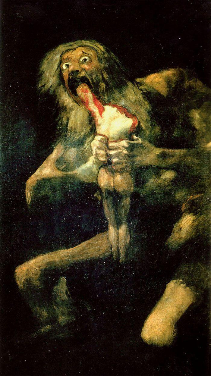Goya, Saturn Devouring His Children