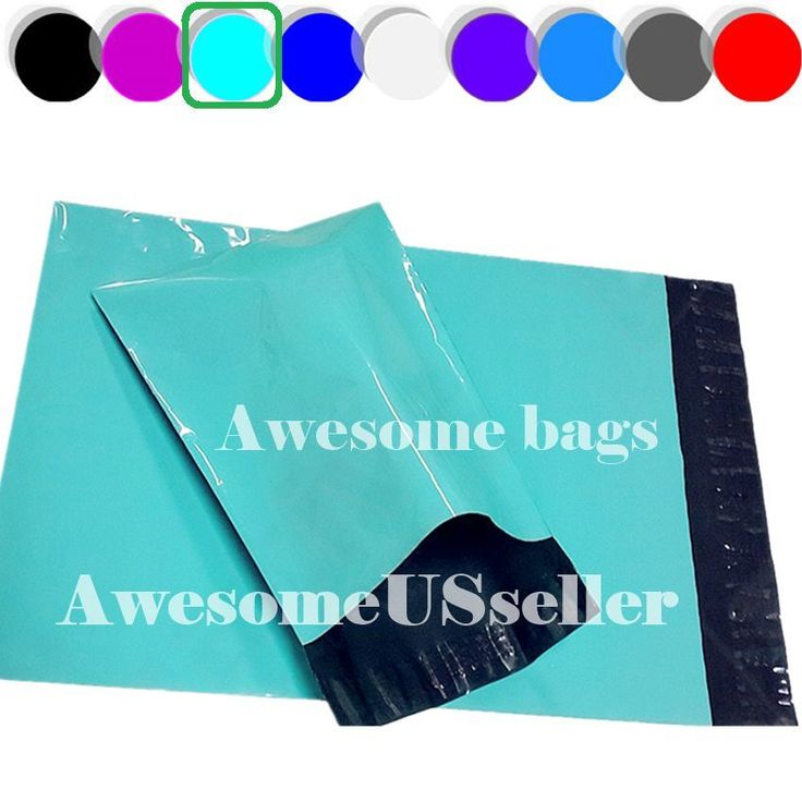 500 10x15 GREEN Poly Mailers 2.6Mil Shipping Envelopes SelfSeal Boutique Bags#2B