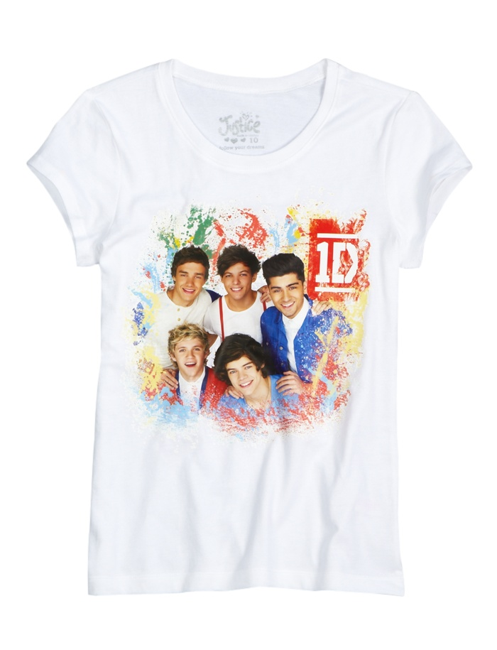 1D Graphic Tee | Bffs And Faves | Graphic Tees | Shop Justice