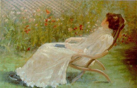 Jane Sutherland (1853-1928)  Daydream 1895