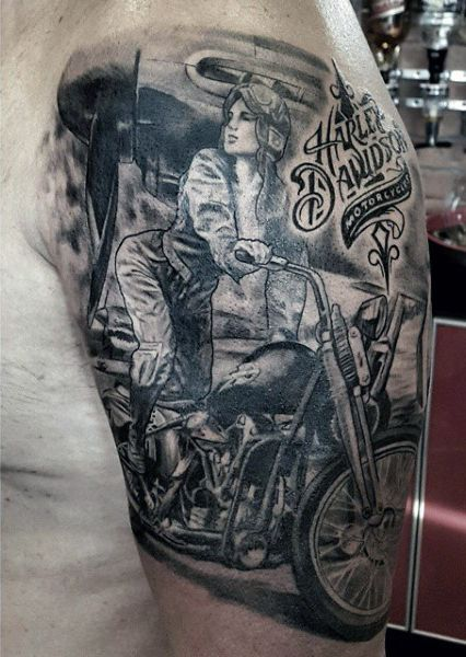 231 best tattoo images on pinterest for Tattoo designs motorcycle